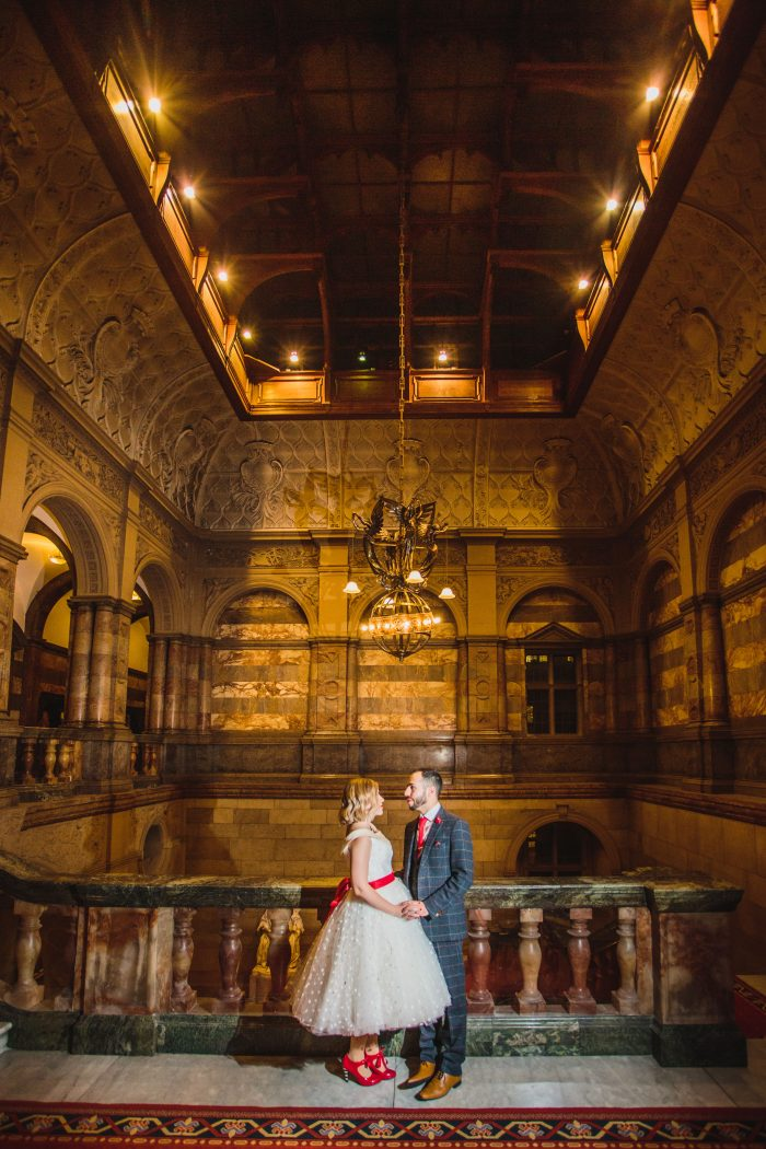 Couple married in Sheffield Town Hall