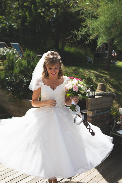 Cutting Edge Brides alternative wedding dresses