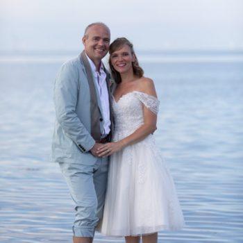 Tulle Short Wedding Dress