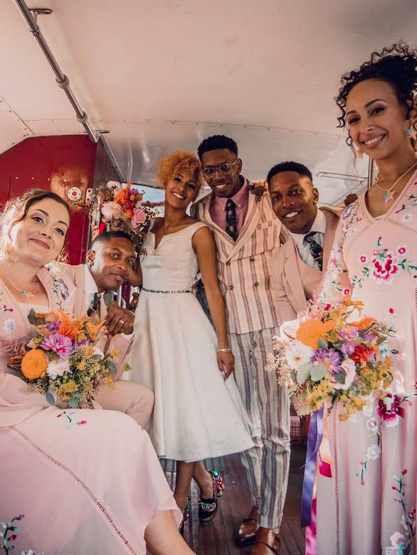 Colourful Wedding Day