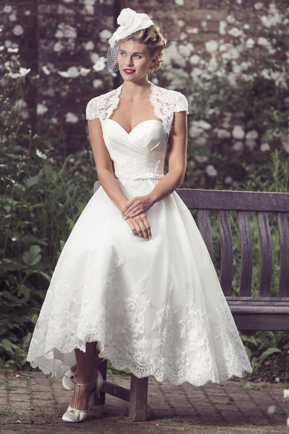 Tea Length Wedding Dress Vintage