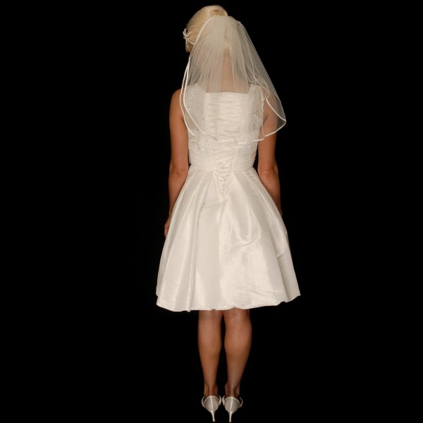 Chloe 1950s Short Vintage Style Wedding Dress