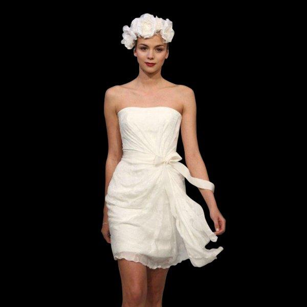 Vintage Wedding Dresses Brighton: Cymbeline Short Knee Length Wedding Dress
