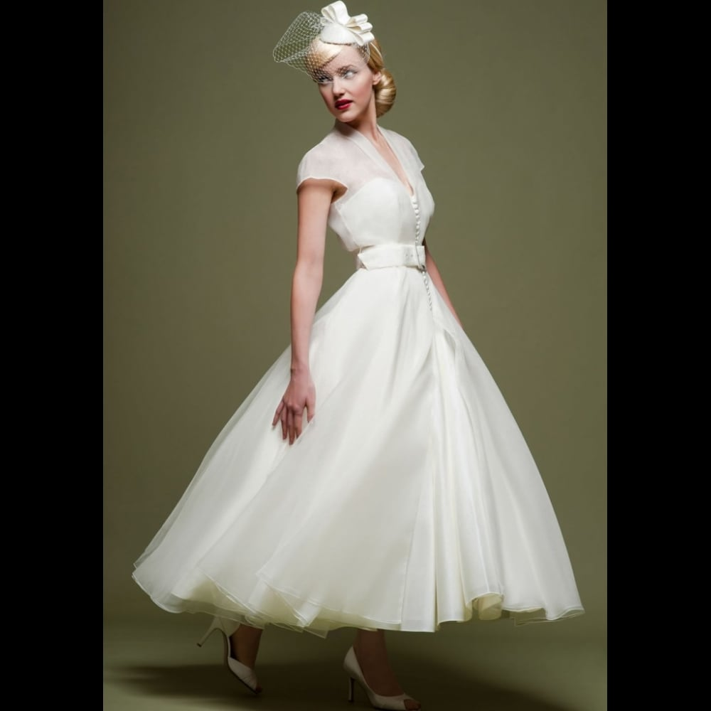 CICELY LB47 by Loulou Bridal 1950s