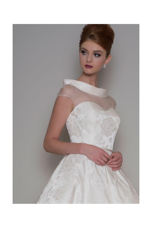 Loulou MABEL Tea Length Audrey Hepburn Style Wedding Dress In ...