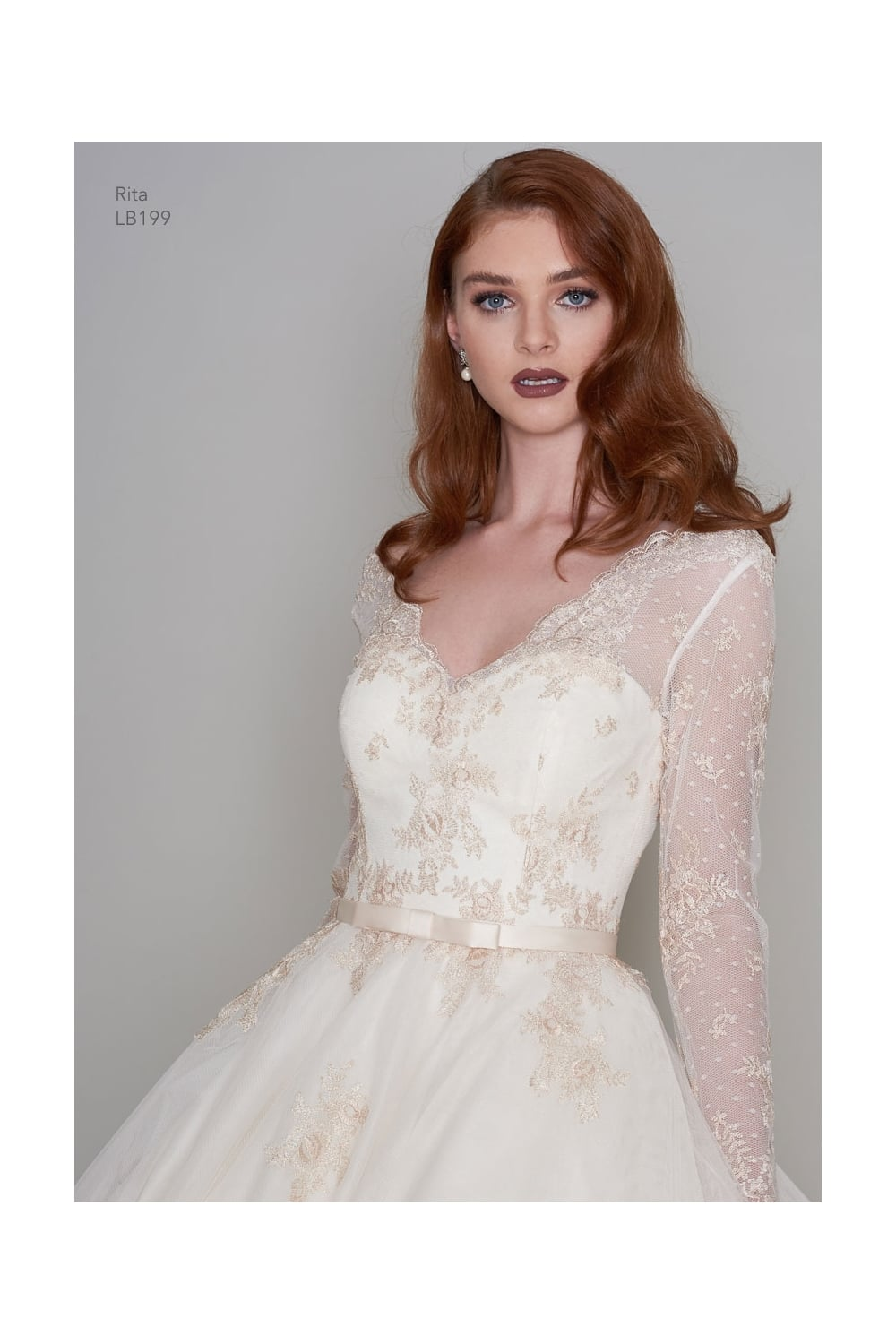 Rita tea length vintage inspired short gold wedding dress with sleeves junglespirit Image collections