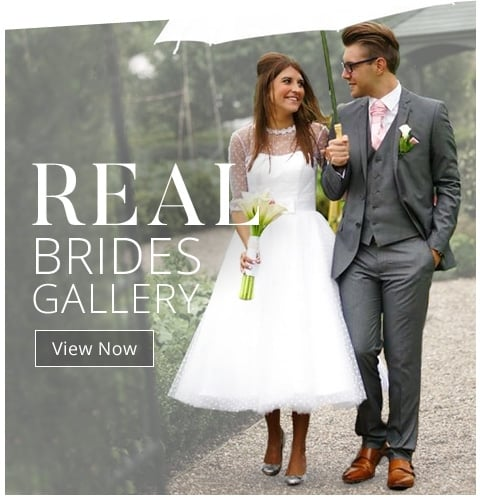 Short Wedding Dress Specialists UK