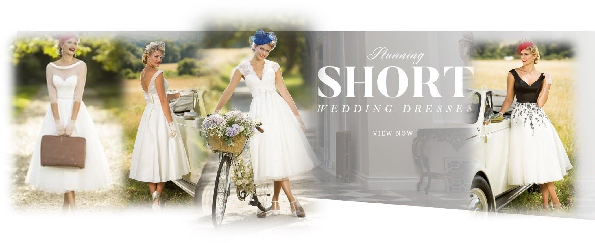 Short Wedding Dresses 2