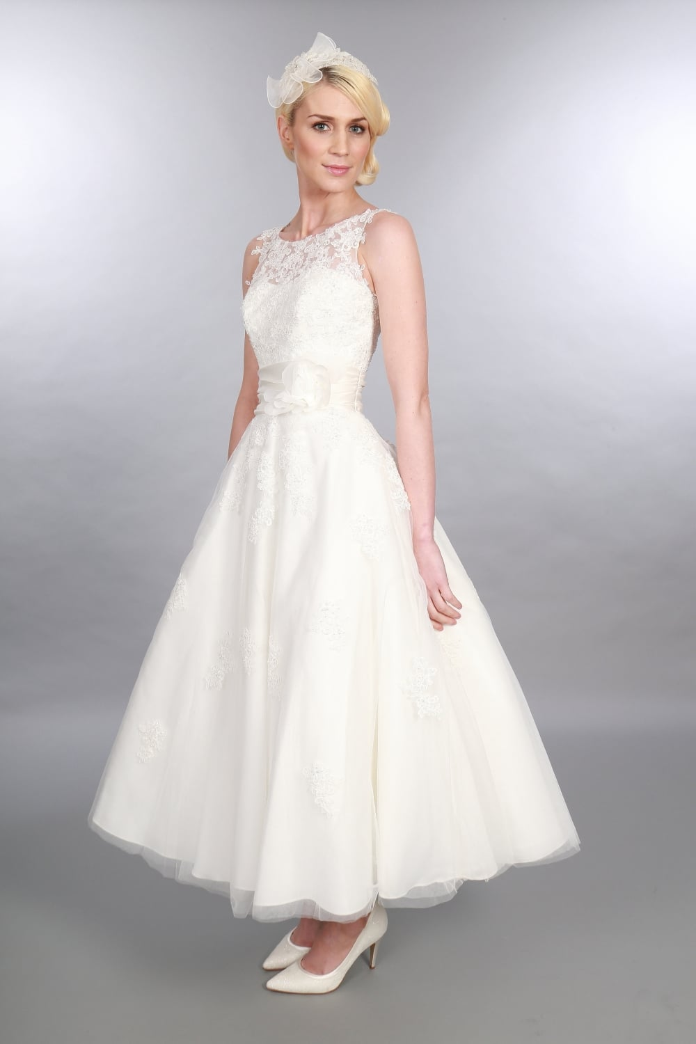 Ankle length wedding dresses all dress for Ankle length wedding dress with sleeves